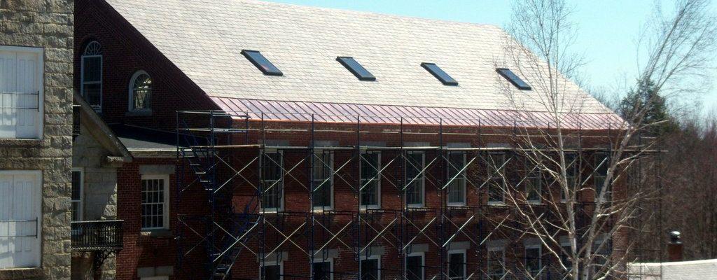 Commercial Historic Harrisville copper pans (11)