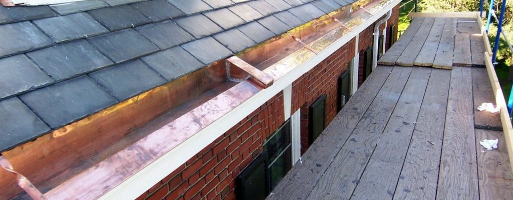 Commercial United Way copper gutters flashings (11)