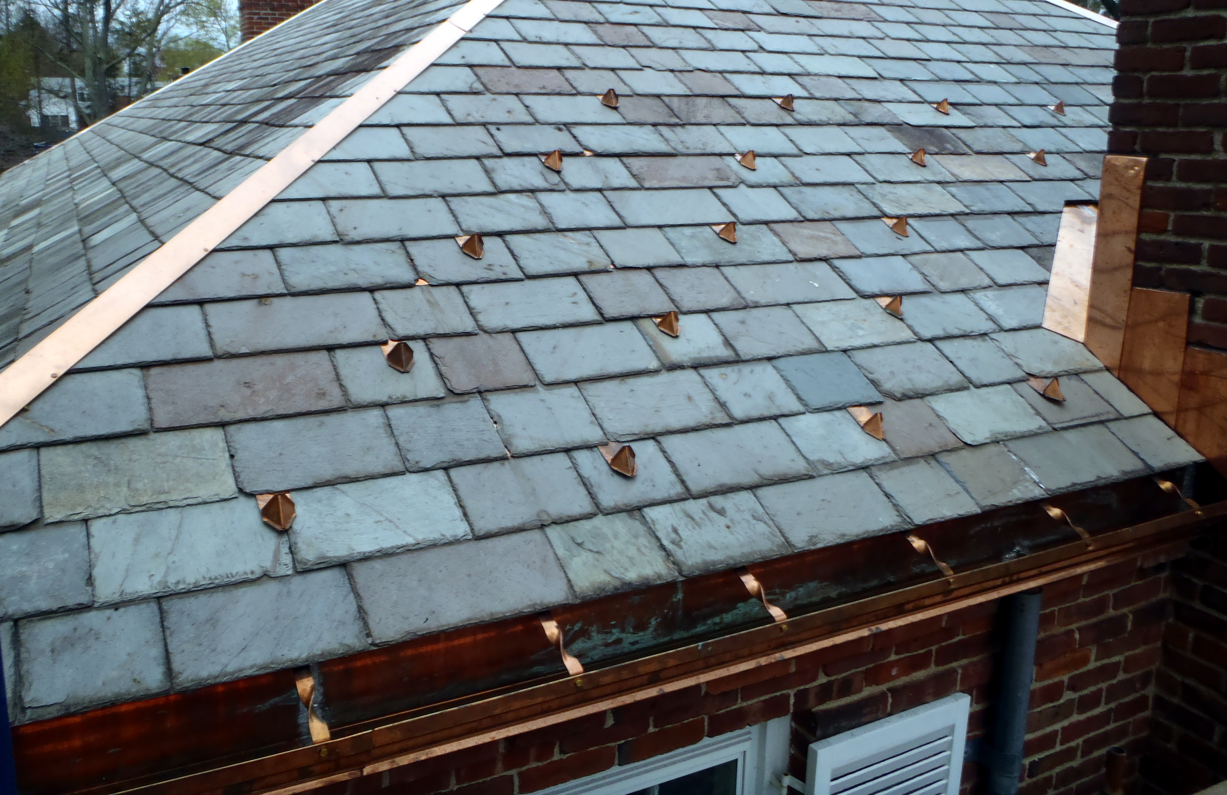 West Hartford Ct Residence Mahan Slate Roofing Company